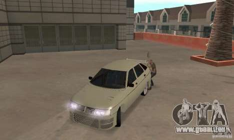 LADA 2112 Tuning (F) pour GTA San Andreas laissé vue
