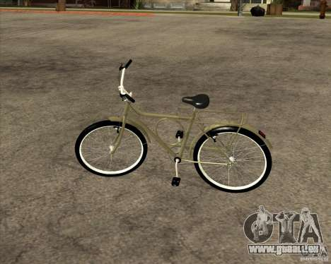 Nouveau vélo pour GTA San Andreas vue arrière