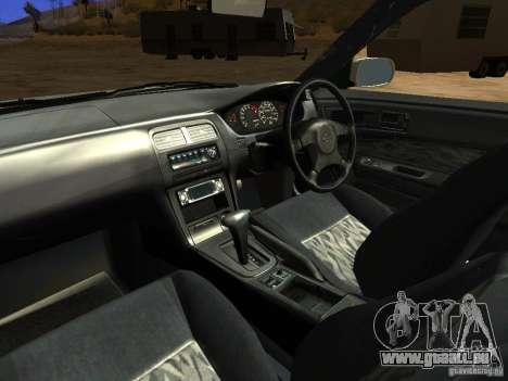 Nissan Silvia S14 JDM pour GTA San Andreas vue de dessus