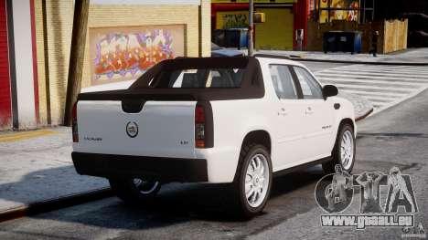 Cadillac Escalade Ext für GTA 4 hinten links Ansicht