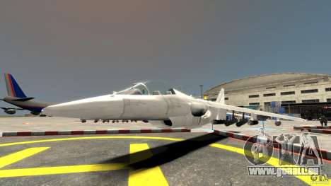 Liberty City Air Force Jet pour GTA 4