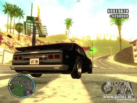 Nissan Skyline 2000 GT-R für GTA San Andreas linke Ansicht
