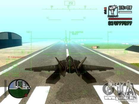 Xa-20 razorback pour GTA San Andreas vue de côté