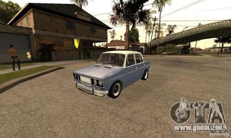VAZ 2106 anciens v2.0 pour GTA San Andreas