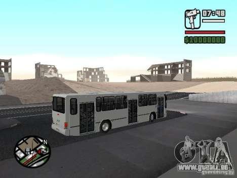 Busscar Urbanus SS Volvo B10M pour GTA San Andreas vue arrière