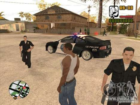 Call the Police für GTA San Andreas
