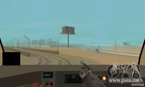 Metro 81-7021 für GTA San Andreas Seitenansicht
