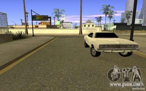 Dodge Charger R/T pour GTA San Andreas vue de droite