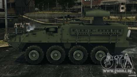 Stryker M1134 ATGM v1.0 pour GTA 4 est une gauche