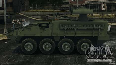 Stryker M1134 ATGM v1.0 für GTA 4 linke Ansicht