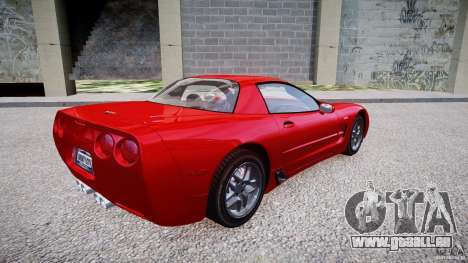 Chevrolet Corvette C5 v.1.0 EPM pour GTA 4 est un droit