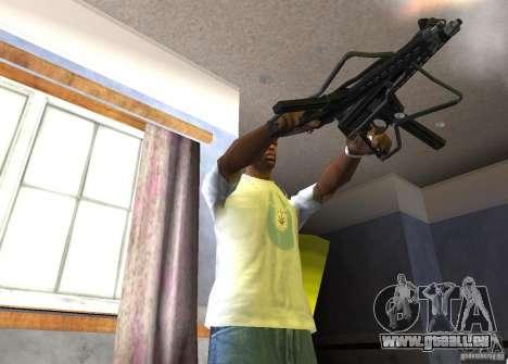 Walther MPL pour GTA San Andreas quatrième écran