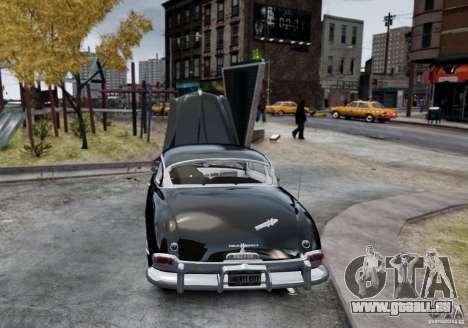 Hudson Hornet Club Coupe pour GTA 4 Vue arrière de la gauche