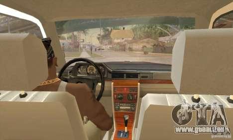Mercedes-Benz 200D [W124] (1985) für GTA San Andreas rechten Ansicht