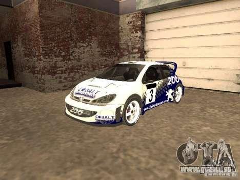 Peugeot 206 WRC de Richard Burns Rally pour GTA San Andreas
