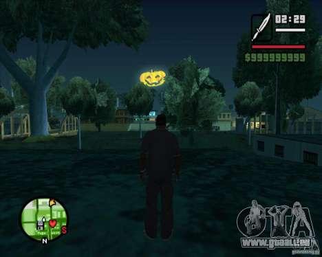 Happy Halloween Mod pour GTA San Andreas