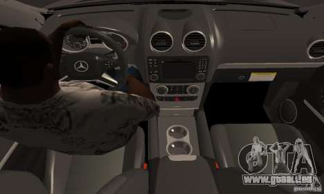 Mercedes Benz ML63 AMG für GTA San Andreas rechten Ansicht