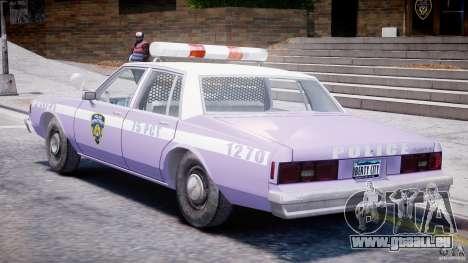 Chevrolet Impala Police 1983 v2.0 pour GTA 4 est un droit