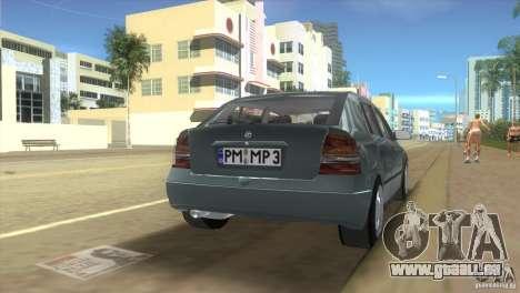 Opel Astra G für GTA Vice City linke Ansicht
