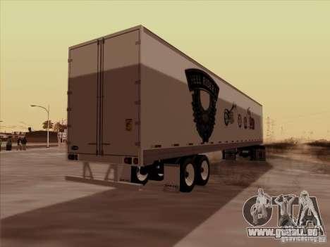 Hell Riders American pour GTA San Andreas sur la vue arrière gauche