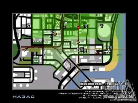 Chansons de films à la guitare pour GTA San Andreas deuxième écran