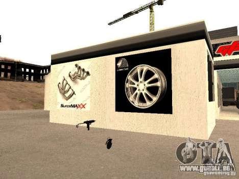 Garage de la GRC en fo pour GTA San Andreas sixième écran