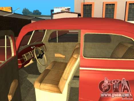 Ford 1940 v8 pour GTA San Andreas vue de droite