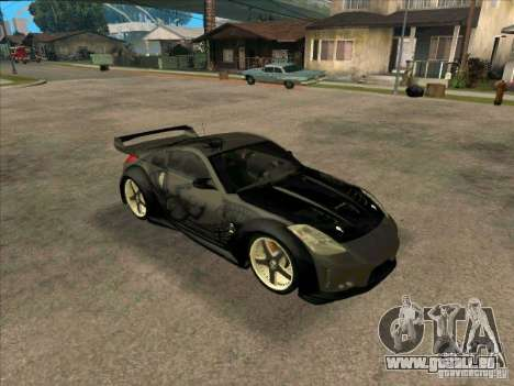 Nissan 350Z DK from FnF 3 pour GTA San Andreas