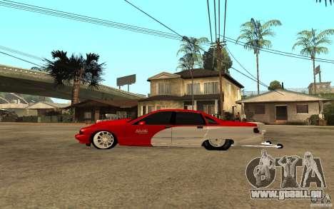 Chevrolet Impala 1995 pour GTA San Andreas laissé vue