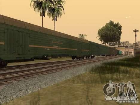 Wagon # 59004960 pour GTA San Andreas laissé vue