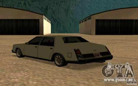 FBI Washington für GTA San Andreas zurück linke Ansicht