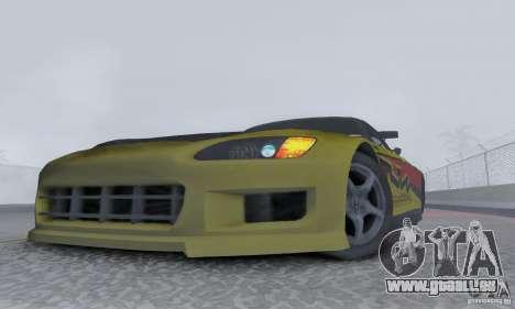 Honda S2000 Tunable pour GTA San Andreas vue de droite