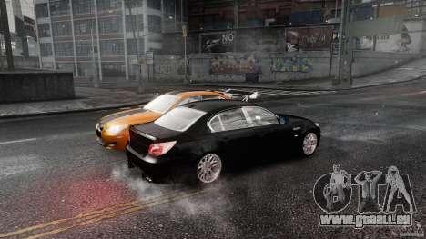 BMW M5 e60 Emre AKIN Edition pour GTA 4 Vue arrière