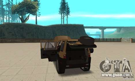 Land Rover Freelander KV6 pour GTA San Andreas vue intérieure