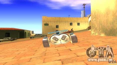 PEPSI car pour GTA San Andreas sur la vue arrière gauche