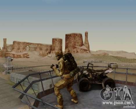 Tom Clancys Ghost Recon pour GTA San Andreas septième écran