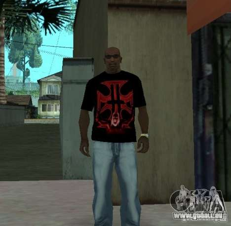 Triple-H-T-shirt für GTA San Andreas