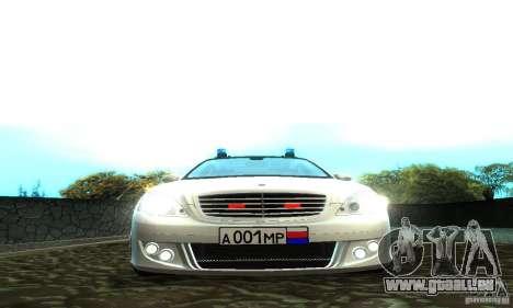 Mercedes-Benz S500 W221 Brabus für GTA San Andreas rechten Ansicht