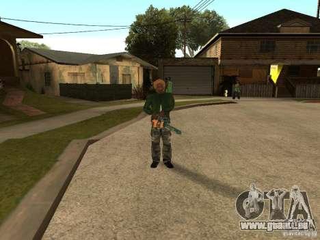 Lames de lancer pour GTA San Andreas deuxième écran