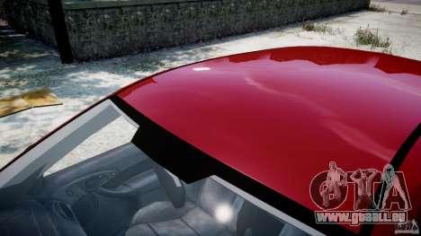 Ford Focus SVT pour GTA 4 est une vue de dessous