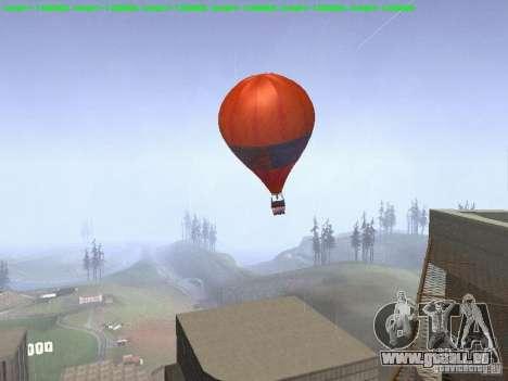 Ballon-Stil hippie für GTA San Andreas linke Ansicht