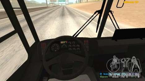 Mercedes-Benz Turk O345 pour GTA San Andreas vue arrière