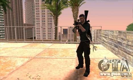 Sam Fisher pour GTA San Andreas sixième écran