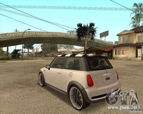 Mini Cooper für GTA San Andreas linke Ansicht
