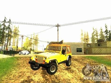 Jeep Wrangler Convertible für GTA San Andreas