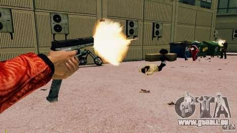 Glock 18 Akimbo (noir/gris) pour GTA 4 quatrième écran