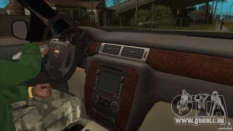 Chevrolet Cheyenne 2011 für GTA San Andreas Innenansicht