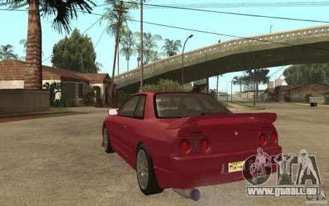 Nissan GTS-T 32 Beta pour GTA San Andreas sur la vue arrière gauche