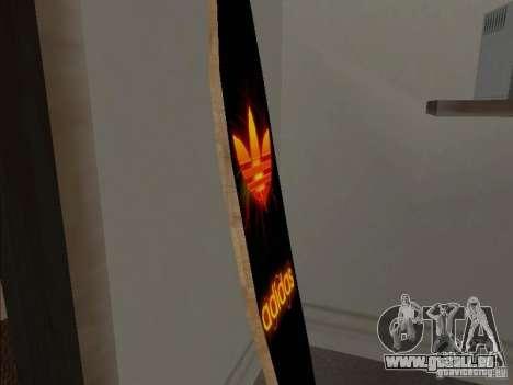 Neue Surf im Haus CJ für GTA San Andreas zweiten Screenshot