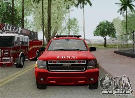 Chevrolet Suburban EMS Supervisor 862 pour GTA San Andreas moteur